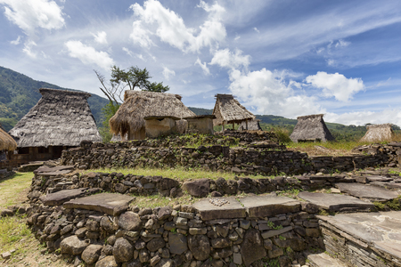 Traditional houses in the Wologai Village, East Nusa Tenggara, Indonesia.