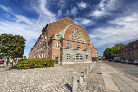 De Danske Sukkerfabrikker Building in Copenhagen, Denmark. Archivio Fotografico - 123571771