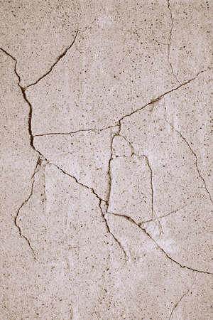 Scheuren in de muur van cement Stockfoto - 316781