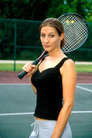Tennis Anyone? Stock Photo