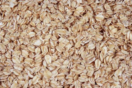Closeup of oatmeal Stock Photo