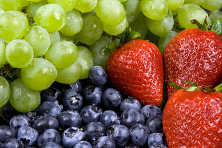 Close up of fruits 免版税图像