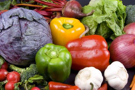 Close up of veggies