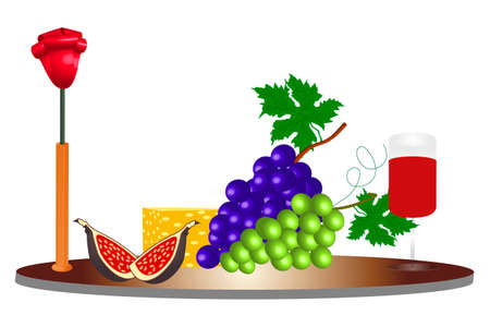 Food ingredients -illustration