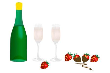 Champagne - illustration