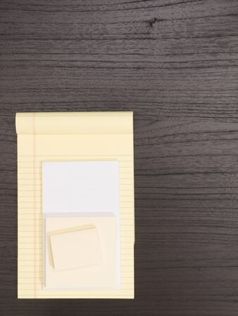 yellow notepad: Desktop, White and Yellow Notepad,  Sticky Notes