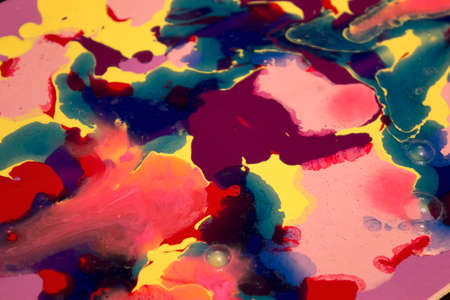 acrylic paint: This is a photograph of abstract acrylic paint background Stock Photo