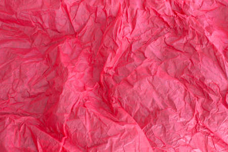 crinkly: This is a photograph of Red tissue paper background