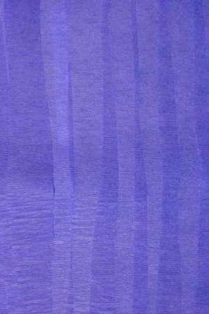 이것은 Blue Crepe의 종이 줄무늬 사진입니다. 스톡 콘텐츠