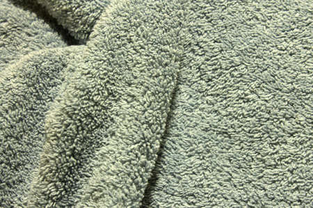 This is a closeup photograph of a Blue towel background