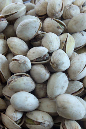 This is a photograph of Pistachio nuts Imagens