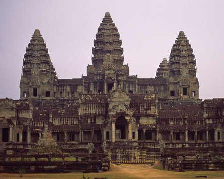 Ankor Wat Cambodia Temple 版權商用圖片