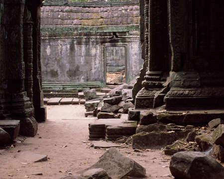 Angkor tempel ruïnes Stockfoto