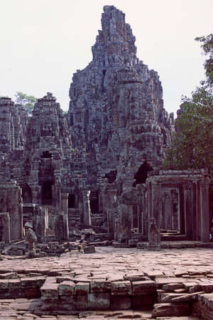 Tall Angkor wat temple