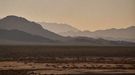 western desert mountains