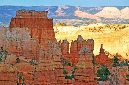 bryce: bryce canyon gloden ridge
