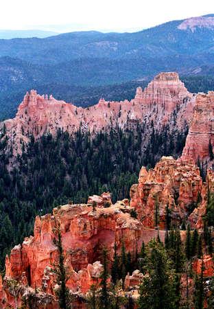 bryce red rock ridges  Imagens