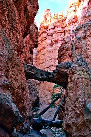 bryce natural rock bridge Imagens