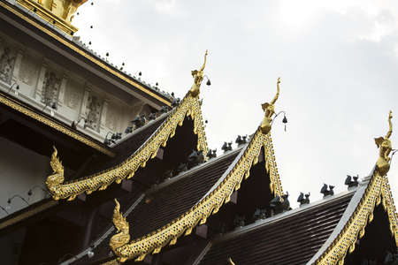 apex: The Golden Apex in Temple Roof, Chiangmai Province Thailand