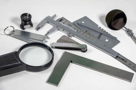 Visual control professional instruments.