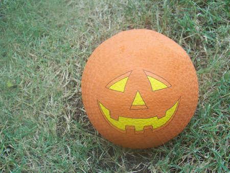 a  halloween  pumpkin  ball