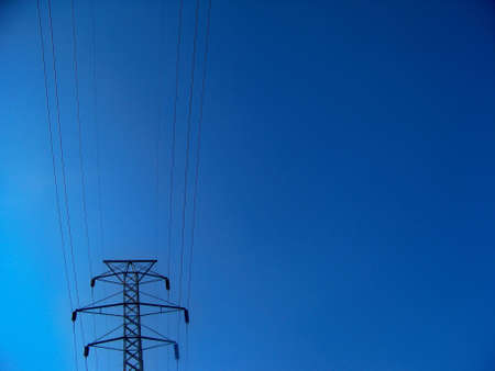 power  lines  and  pylon