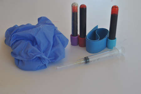 tools  for  extracting  blood