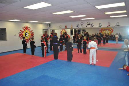 Indian  Land, SC  Dec  12, 2011  karate  class  award  ceramony