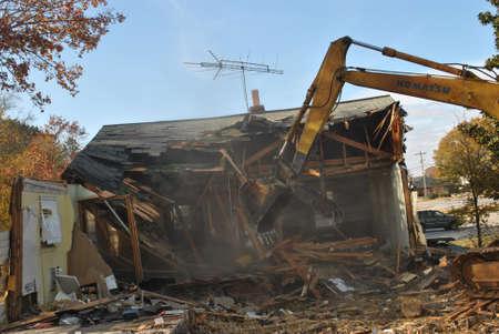 Casa demolición 9 Foto de archivo - 16323049