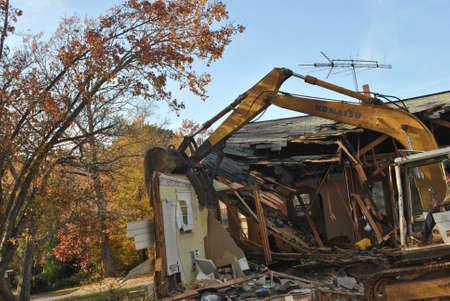 Casa demolición Foto de archivo - 16425782