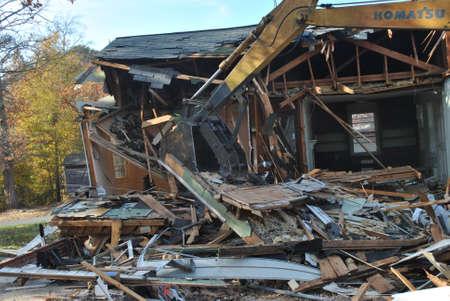 broken house: home   demolition     Editorial