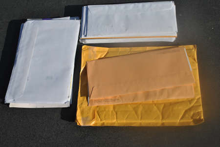 mail  on  desk