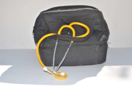 black  doctor s  bag Stock Photo