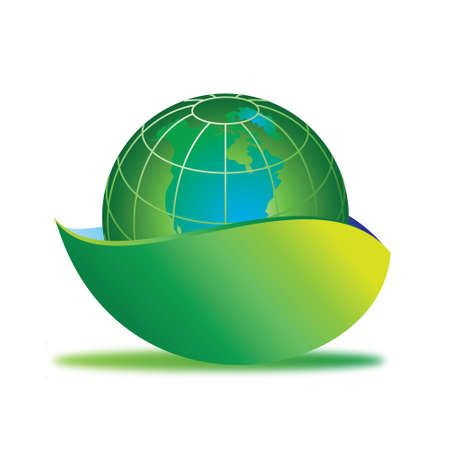 ecological  earth Stock Photo