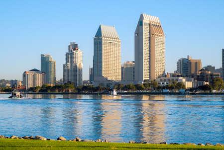 diego: Downtown City of San Diego, California Cityscape