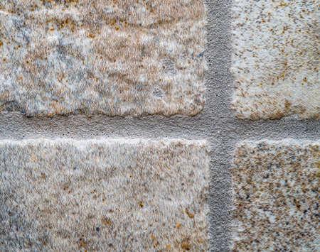 Tegel-en Grout Detail Close Up