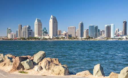 San Diego Cityscape In Kalifornien Usa Lizenzfreie Fotos Bilder