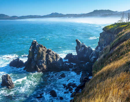 Californië Kustlijn Viewpoint, staat Californië, Verenigde Staten