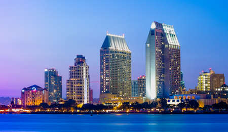 Downtown Cityscape of San Diego, California USA, California Tourism