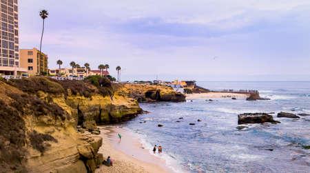 San Diego La Jolla Cove, San Diego, Californië