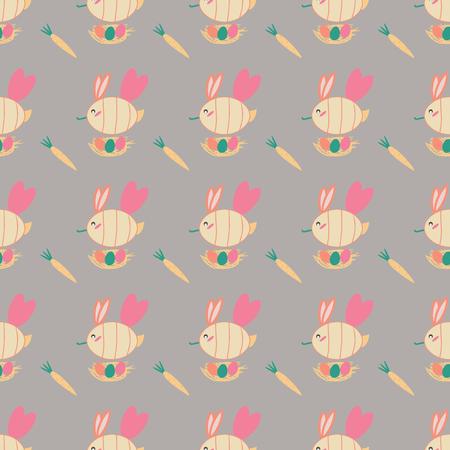 Spring pattern with bees for wrapping, texture, cover, envelope. Illustration