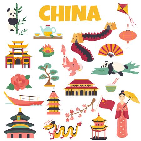 Chinese Landmarks Architecture Symbol Famous Place