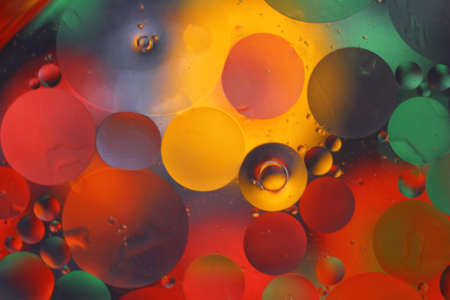 Random light water bubbles. Photo Banco de Imagens