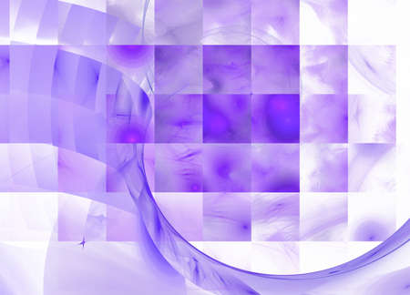 Violet-n-white abstract background