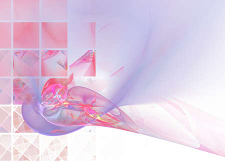 Rose-n-lilac abstract background