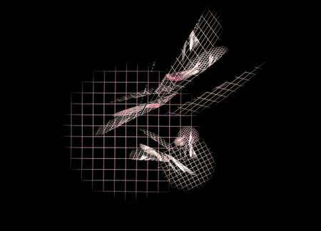 Matrix.Computer generated picture Banco de Imagens