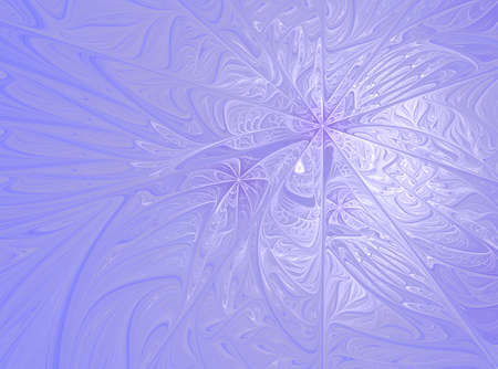 Winter morning, Created in Apophysis
