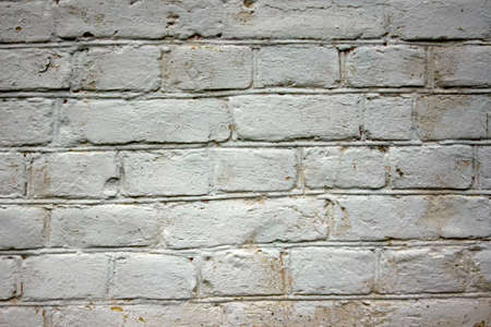 stone wall texture: old white brick wall texture background Stock Photo