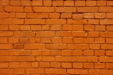 red brick wall: new red brick wall texture background Stock Photo