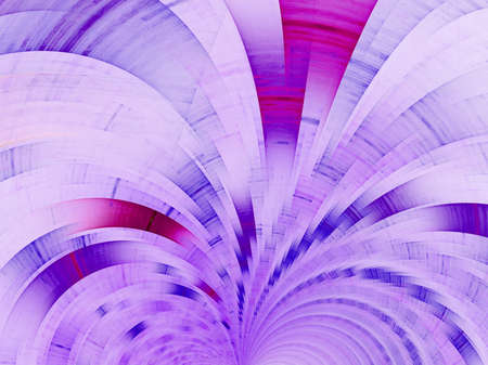 Purple fan. Abstract fractal background